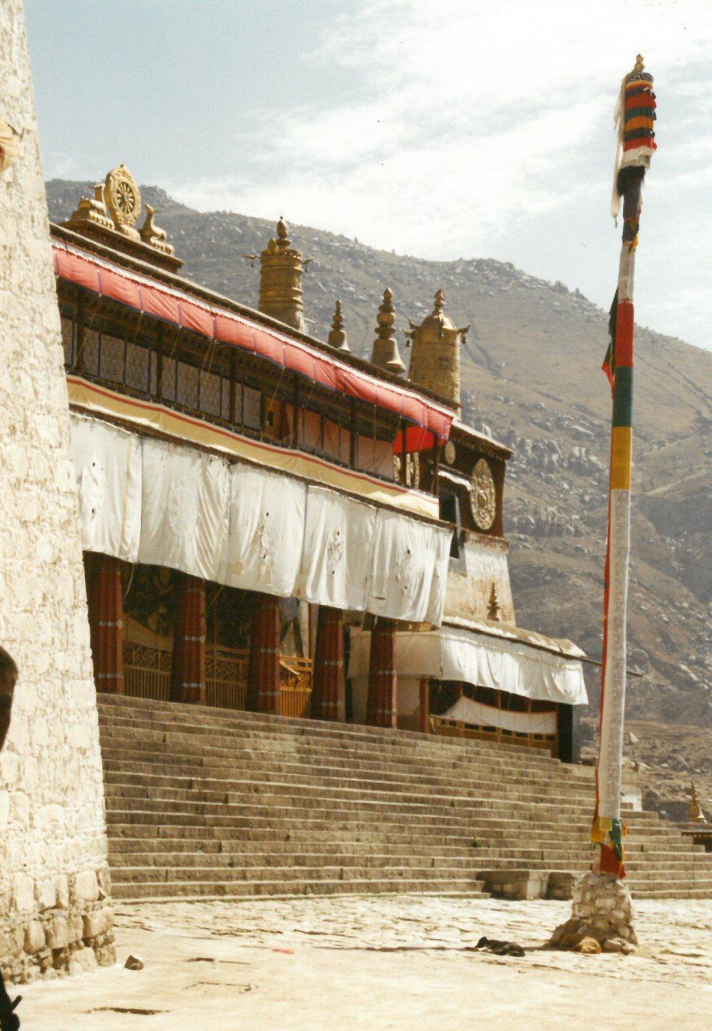 Drepungklostret ved Lhasa